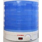 Сушилка для овощей и фруктов Росинка голубой цвет с вентилятором