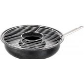 Сковорода гриль-газ D-516 Мраморное - антипригарное покрытие