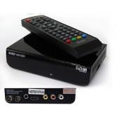 Ресивер эфирный цифровой DVB-T2 HD HD-515 пластик