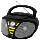 Магнитола BBK BX-180U черный/желтый