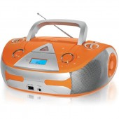 Магнитола BBK BX-325U оранж/серебро