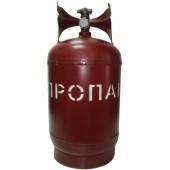Баллон газовый стальной с вентилем баллонным Крым