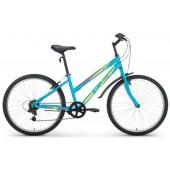 """Велосипед ALTAIR MTB HT 26 1.0 Lady 26"""" 18 ск. рост 15"""" 2016-2017 голубой"""