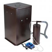 Коптильня бытовая  холодного копчения Дым Дымыч  модель 01Б - дымогенератор + емкость для копчения большая объемом 50 л.
