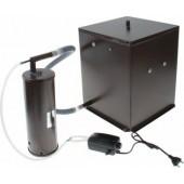 Коптильня бытовая  холодного копчения  Дым Дымыч  модель 01М - дымогенератор + емкость для копчения малая объемом 32 л.