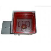 Сушилка для овощей Изюминка цельнометаллическая, 3 поддона, с вент., 0,55 кВт,  квадратная