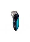 Бритва Centek CT-2161 (син/черн) ротор, 3 плав. головки, 2-йные лезвия, до 60 мин. работы, LED