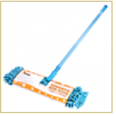 Швабра для пола с насадкой из микрофибры MopM8 «Лапша» 2-х сторонняя