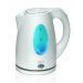 Чайник Polaris  PWK-1736СL(1.7л,диск, пластик) бел/бирюз.