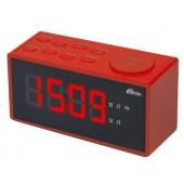 Радиобудильник RITMIX RRC-1212 RED. ЖК дисплей 1