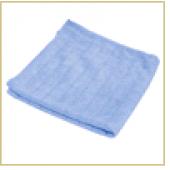 Салфетка из микрофибры M-03 вафельная (универс.), цвет: голубой, размер: 30*30 см