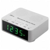 Радиобудильник RITMIX RRC-818 WHITE. ЖК дисплей