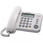 Телефон проводной Panasonic KX-TS2388 RU-W белый
