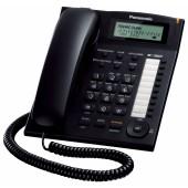 Телефон проводной Panasonic KX-TS2388 RU-B черный
