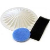 Фильтр для пылесоса FILTERO FTM 10 VAX комплект 3 шт, к пылесосам VAX