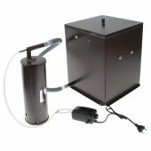 Коптильня бытовая холодного копчения Дым Дымыч модель 02М - дымогенератор+емкость для копч.