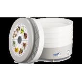 Сушилка для овощей Ротор-Дива СШ 007, 3 ПРОЗРАЧНЫХ поддона в цветной упак. Барнаул