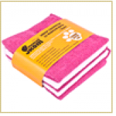 Набор из 5-ти салфеток из микрофибры MFS-01/5, размер: 30*30см