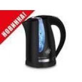 Чайник Centek CT-0040 Black 1.8л, 2200Вт, открывание кнопкой, внутренняя подсветка