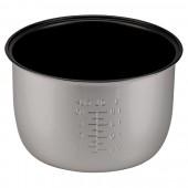 Чаша для мультиварки Vigor HX-3750, алюминиевая чаша с тефлоновым покрытием, высота внешней стороны чаши 14,5 см, диаметр поверх чаши 23,5 с