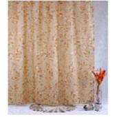"""Штора текстильная/ванны и душа """"Офелия"""" DSCN3373, 180х200см, цв. коричневый"""