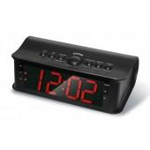 Радио-часы Rolsen CR-180 черный