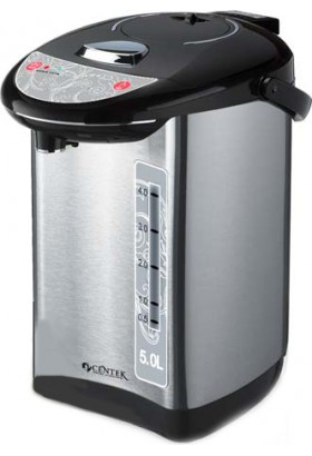 Термопот Centek CT-1083 (сталь) 5.0л, 750Вт, 3 способа подачи воды, двойная защита от перегрева