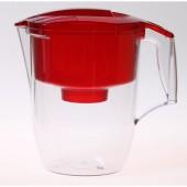 Фильтр для воды Аквафор-ГАРРИ (красный)  с доп. кассетой