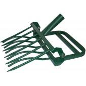 Рыхлитель ЗЕМЛЕКОП-5 садово-огородный  (одна ручка, 5 зубьев, ширина копки одной полосы 420мм)