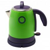 Чайник Великие Реки Чая-1А, 1400 Вт, 1,2 л, цвет зеленый, нержавеющая сталь