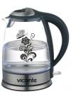 Чайник Viconte VC-3248, об.2л., 2000Вт.,корпус из высококачеств.термостойкого стекла с узором