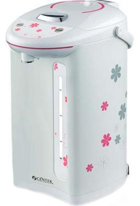 Термопот Centek CT-1080T 5.0л, 750Вт, рисунок на корпусе, 3 способа подачи воды, двойная защита