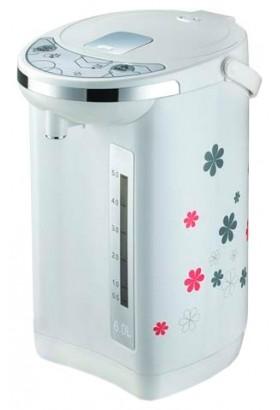 Термопот Centek CT-1081 6.0л, 750Вт, рисунок на корпусе, 2 способа подачи воды, двойная защита