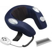 Массажная подушка Pullman PL-1031, 3 режима массажа, музыка, встроенные магниты, аромотерапия, пульт ДУ