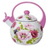 Чайник эмалированный Элис -255 2,5л со свистком