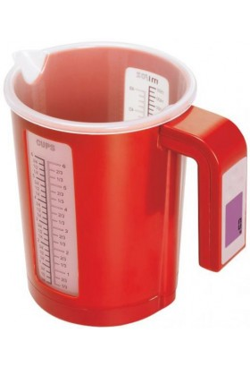 Весы кухонные Sakura SA-6067R 5кг крас