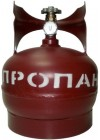 Баллон газовый стальной с вентилем баллонным Украина