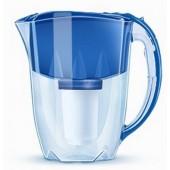 Фильтр для воды Аквафор-ПРЕСТИЖ (синий) с доп. кассетой, новогодняя упаковка